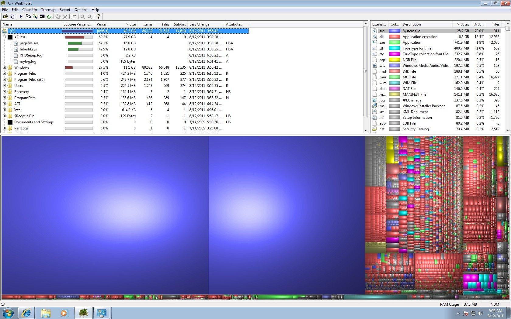 Windows ridurre hiberfil.sys e pagefile.sys con 16GB RAM | Servizi Linux Cloud
