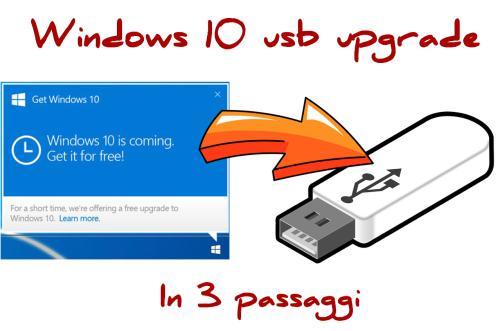 Windows 10 offline usb upgrade