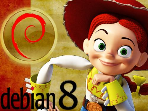 Debian 8 stable codename Jessie released