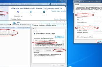 Configurare indirizzo IP fisso Windows